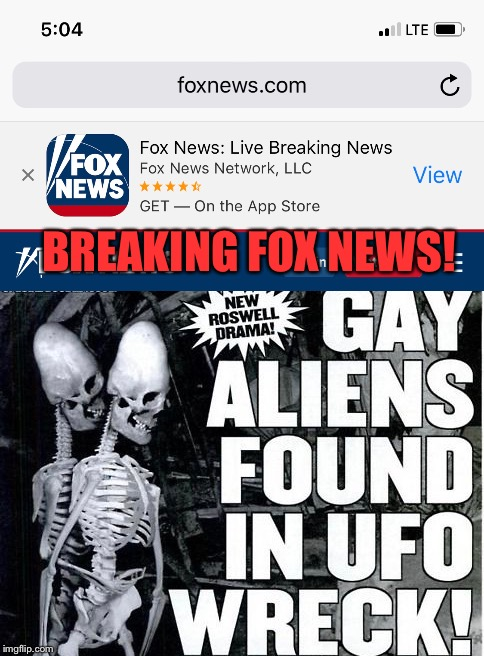 BREAKING FOX NEWS! | made w/ Imgflip meme maker