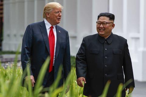 Donald Trump And Kim Jong Un Blank Template Imgflip