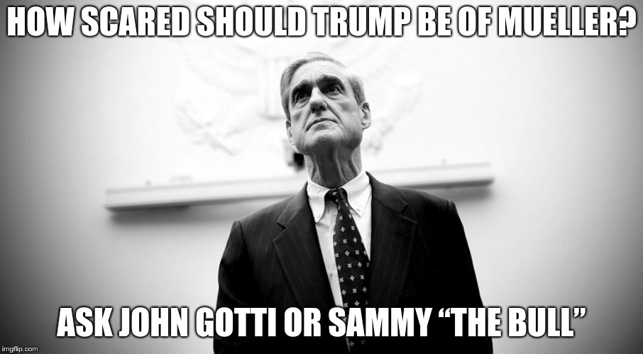 "The Man | HOW SCARED SHOULD TRUMP BE OF MUELLER? ASK JOHN GOTTI OR SAMMY ""THE BULL"" 
