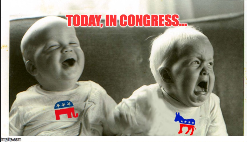 Yeah, It's Like That | TODAY, IN CONGRESS... | image tagged in democrat congressmen,congress,politics | made w/ Imgflip meme maker