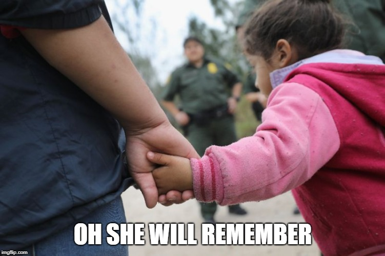 OH SHE WILL REMEMBER | made w/ Imgflip meme maker