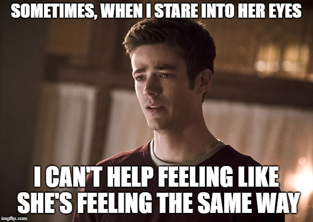 Soap Opera Barry | SOMETIMES, WHEN I STARE INTO HER EYES I CAN'T HELP FEELING LIKE SHE'S FEELING THE SAME WAY | image tagged in soap opera barry | made w/ Imgflip meme maker
