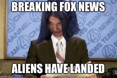 Ron Mimandy | BREAKING FOX NEWS ALIENS HAVE LANDED | image tagged in ron mimandy,memes | made w/ Imgflip meme maker