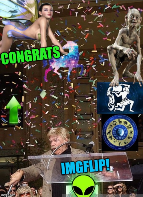 CONGRATS IMGFLIP! | made w/ Imgflip meme maker