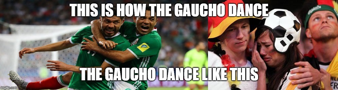 Gaucho Dance  | THIS IS HOW THE GAUCHO DANCE THE GAUCHO DANCE LIKE THIS | image tagged in soccer flop,dance,funny meme | made w/ Imgflip meme maker