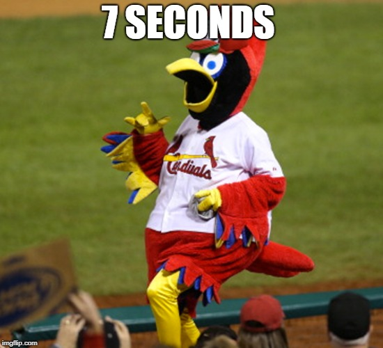 7 SECONDS | made w/ Imgflip meme maker