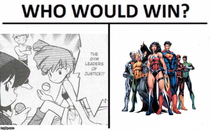 Gym leaders of justice league | image tagged in pokemon,justice league,gym | made w/ Imgflip meme maker