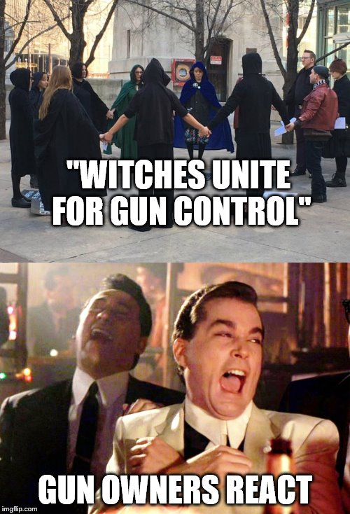 "Witches for gun control | ""WITCHES UNITE FOR GUN CONTROL"" GUN OWNERS REACT 