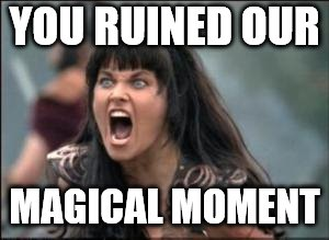 YOU RUINED OUR MAGICAL MOMENT | made w/ Imgflip meme maker