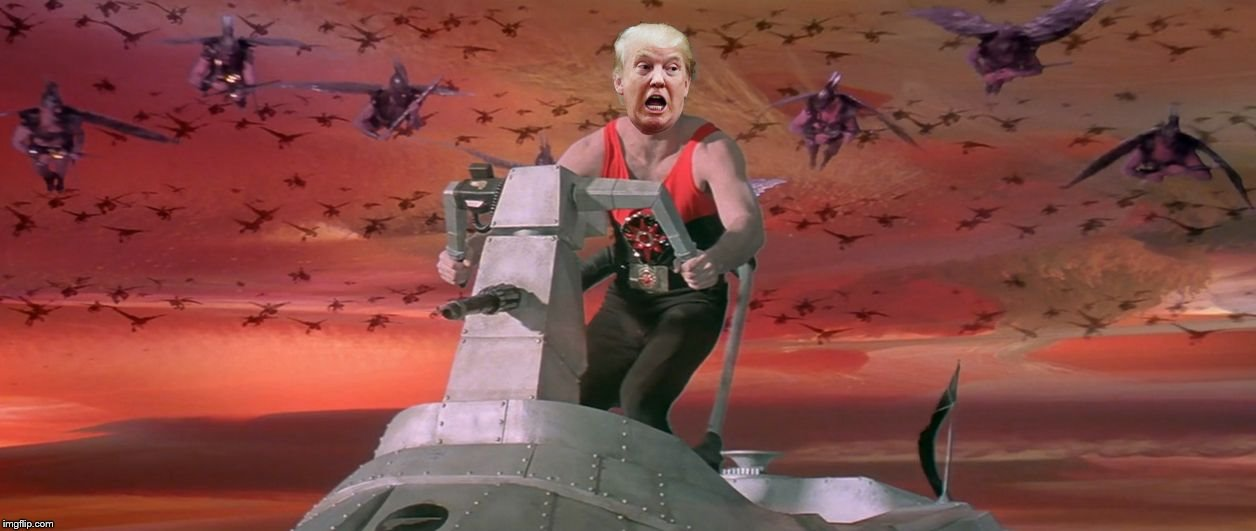 image tagged in trump space force | made w/ Imgflip meme maker