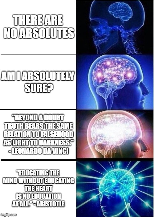 """And ye shall know the truth, and the truth shall make you free."" John 8:32 