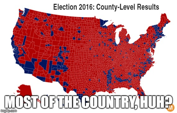 MOST OF THE COUNTRY, HUH? | made w/ Imgflip meme maker