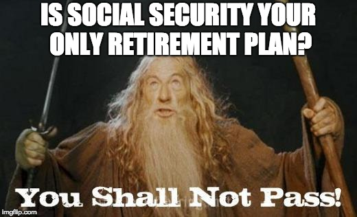 Meme of Gandalf: You Shall Not Pass