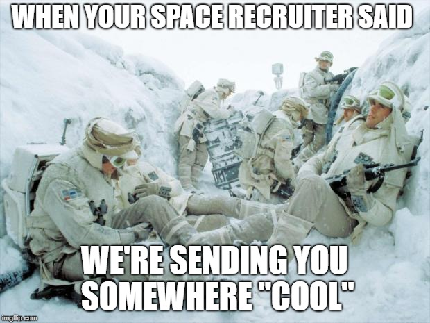 "Space Fprce | WHEN YOUR SPACE RECRUITER SAID WE'RE SENDING YOU SOMEWHERE ""COOL"" 