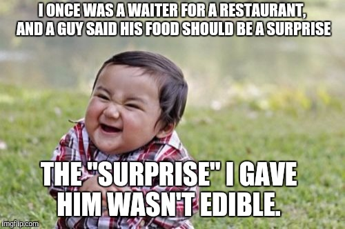 "Evil Toddler Week, June 14-21, a DomDoesMemes campaign! Tag your memes ""evil toddler week"" for easy access! 