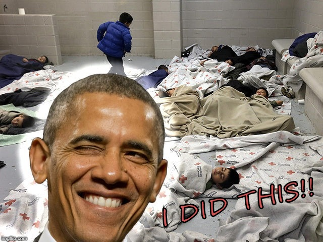 I DID THIS!! | image tagged in obama | made w/ Imgflip meme maker