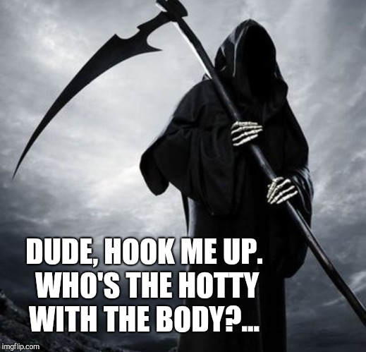 DUDE, HOOK ME UP. WHO'S THE HOTTY WITH THE BODY?... | made w/ Imgflip meme maker