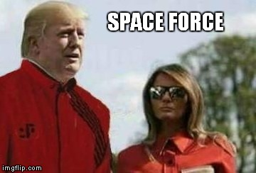 SPACE FORCE | image tagged in space force,v | made w/ Imgflip meme maker