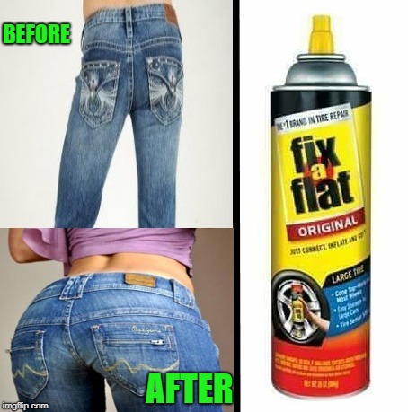 before-after | BEFORE AFTER | image tagged in fix a flat,funny,meme | made w/ Imgflip meme maker