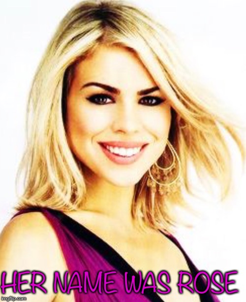 Her name was Rose |  HER NAME WAS ROSE | image tagged in doctor who,rose tyler | made w/ Imgflip meme maker