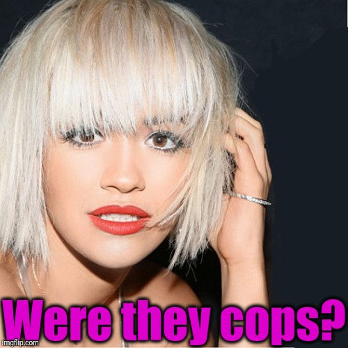 ditz | Were they cops? | image tagged in ditz | made w/ Imgflip meme maker