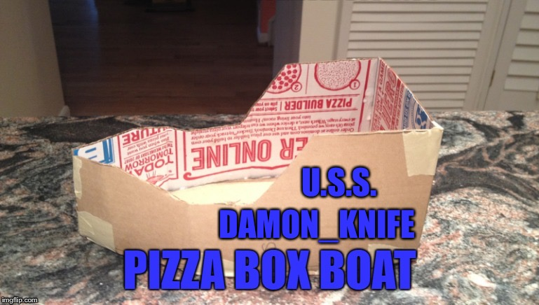 U.S.S. DAMON_KNIFE | made w/ Imgflip meme maker