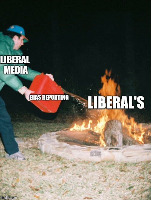 Why liberals are crazy | LIBERAL MEDIA BIAS REPORTING LIBERAL'S | image tagged in memes,political meme | made w/ Imgflip meme maker