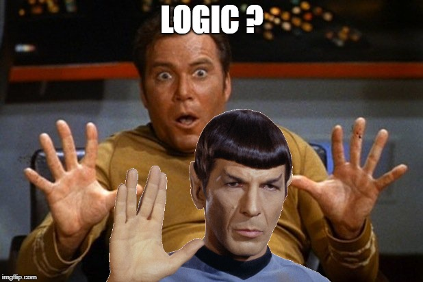 LOGIC ? | made w/ Imgflip meme maker
