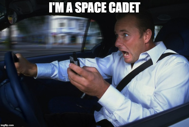 I'M A SPACE CADET | made w/ Imgflip meme maker