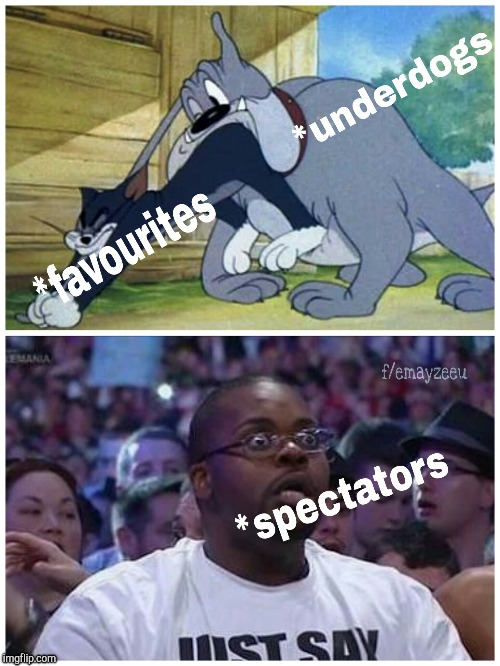 Russia World Cup Summary | image tagged in world cup,2018,tom and jerry,wrestlemania | made w/ Imgflip meme maker
