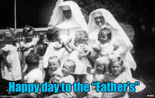 "Happy day to the ""Father's"" 
