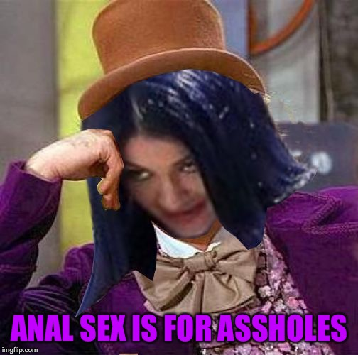 Creepy Condescending Mima | ANAL SEX IS FOR ASSHOLES | image tagged in creepy condescending mima,memes,anal sex | made w/ Imgflip meme maker