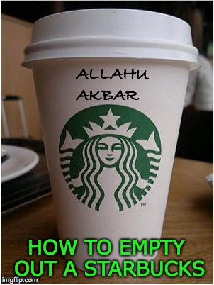 HOW TO EMPTY OUT A STARBUCKS | image tagged in starbucks,coffee,prank | made w/ Imgflip meme maker