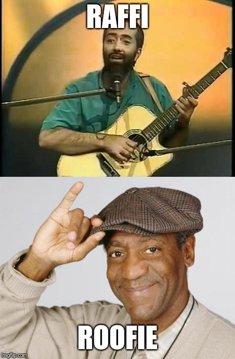 Word association... | RAFFI ROOFIE | image tagged in memes,bill cosby,bill cosby what,funny,not funny,roofie | made w/ Imgflip meme maker