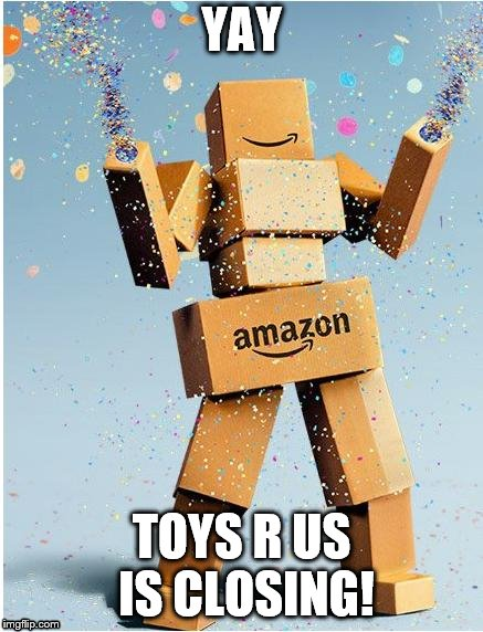 "Toys ""R"" Us is terrible! 