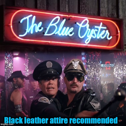 Black leather attire recommended | made w/ Imgflip meme maker