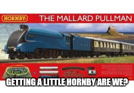 GETTING A LITTLE HORNBY ARE WE? | made w/ Imgflip meme maker