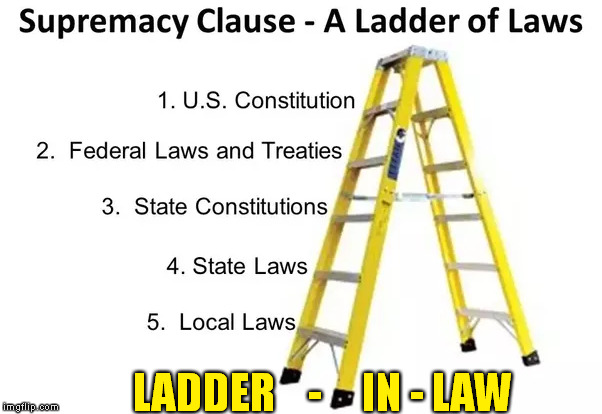 LADDER    -     IN - LAW | made w/ Imgflip meme maker