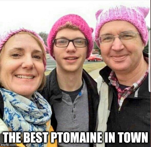 THE BEST PTOMAINE IN TOWN | image tagged in red hen | made w/ Imgflip meme maker