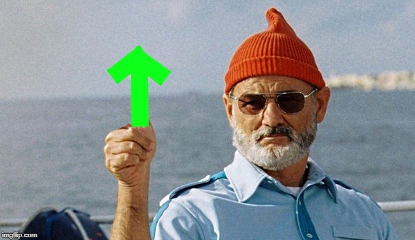 bill murray upvote | ; | image tagged in bill murray upvote | made w/ Imgflip meme maker