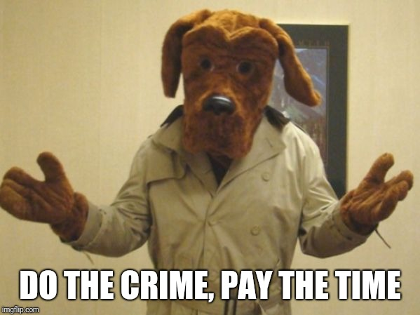 DO THE CRIME, PAY THE TIME | made w/ Imgflip meme maker