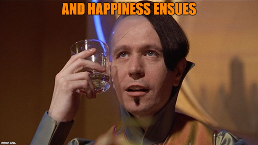 zorg | AND HAPPINESS ENSUES | image tagged in zorg | made w/ Imgflip meme maker
