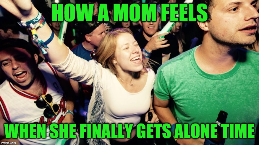 It's short-lived but awesome (A Phantasmemegoric request) | HOW A MOM FEELS WHEN SHE FINALLY GETS ALONE TIME | image tagged in life is good lisa,memes,moms,me time,personal challenge | made w/ Imgflip meme maker