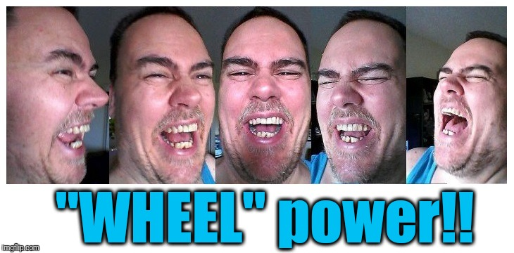 "LOL | ""WHEEL"" power!! 