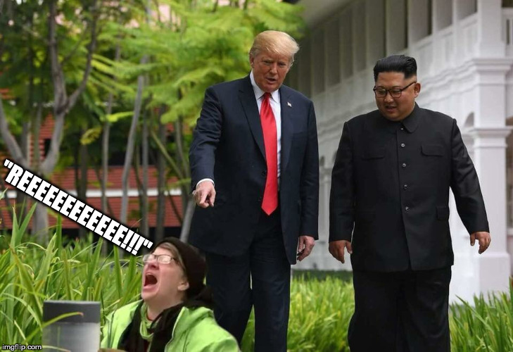 "trump | ""REEEEEEEEEEEE!!!"" 