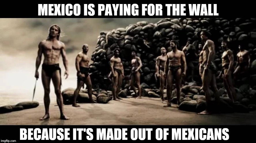 Those are processing plants, not detention centers | MEXICO IS PAYING FOR THE WALL BECAUSE IT'S MADE OUT OF MEXICANS | image tagged in wall,trump,mexico,immigration,illegal | made w/ Imgflip meme maker