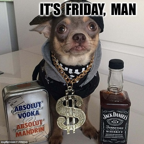 IT'S  FRIDAY,  MAN | image tagged in boobs | made w/ Imgflip meme maker