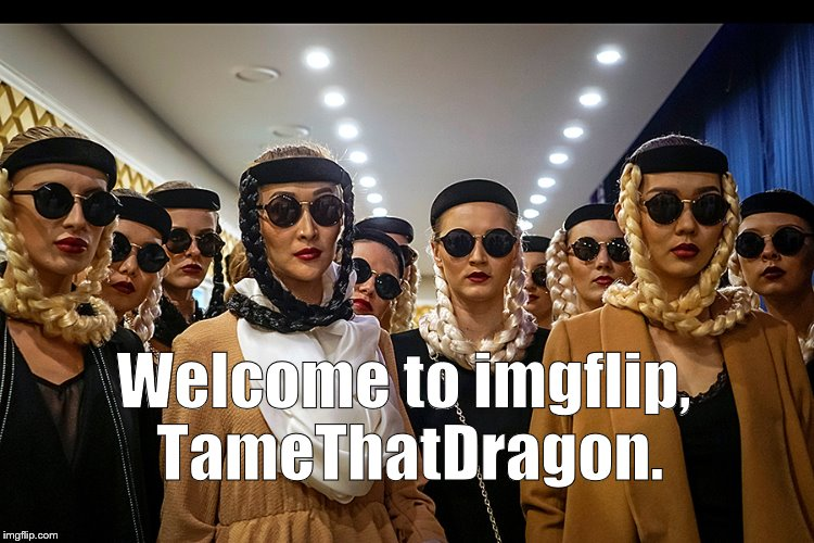 Yes, we're different | Welcome to imgflip, TameThatDragon. | image tagged in yes we're different | made w/ Imgflip meme maker