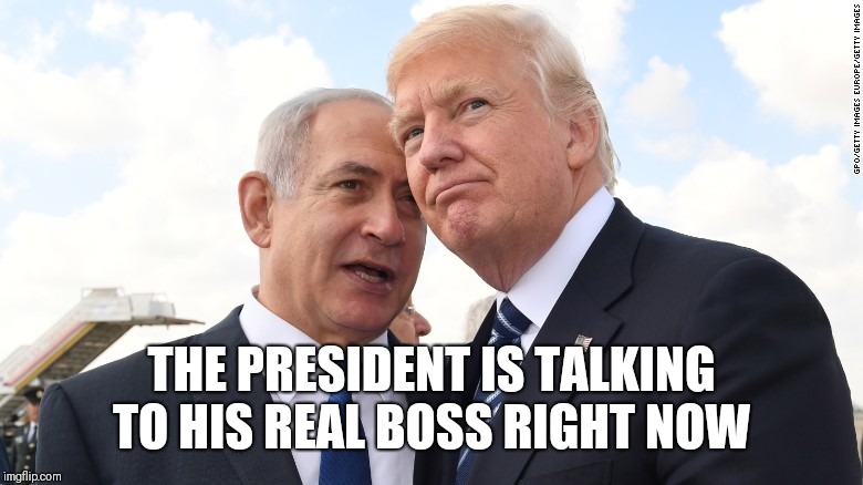THE PRESIDENT IS TALKING TO HIS REAL BOSS RIGHT NOW | made w/ Imgflip meme maker