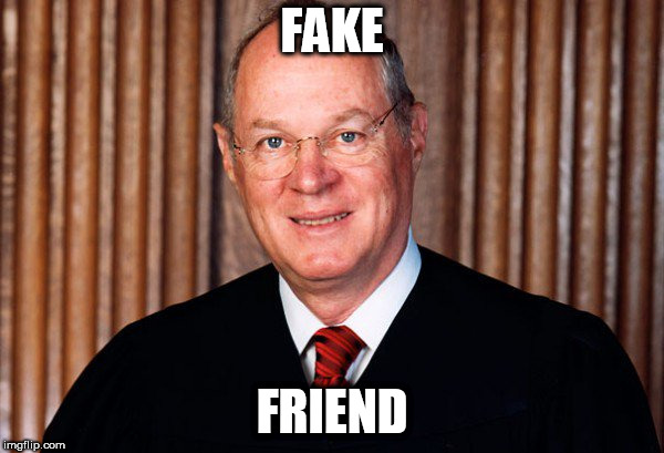 FAKE FRIEND | image tagged in supreme court | made w/ Imgflip meme maker